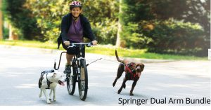 Best Offer Springer Dog Exerciser Dual Arms
