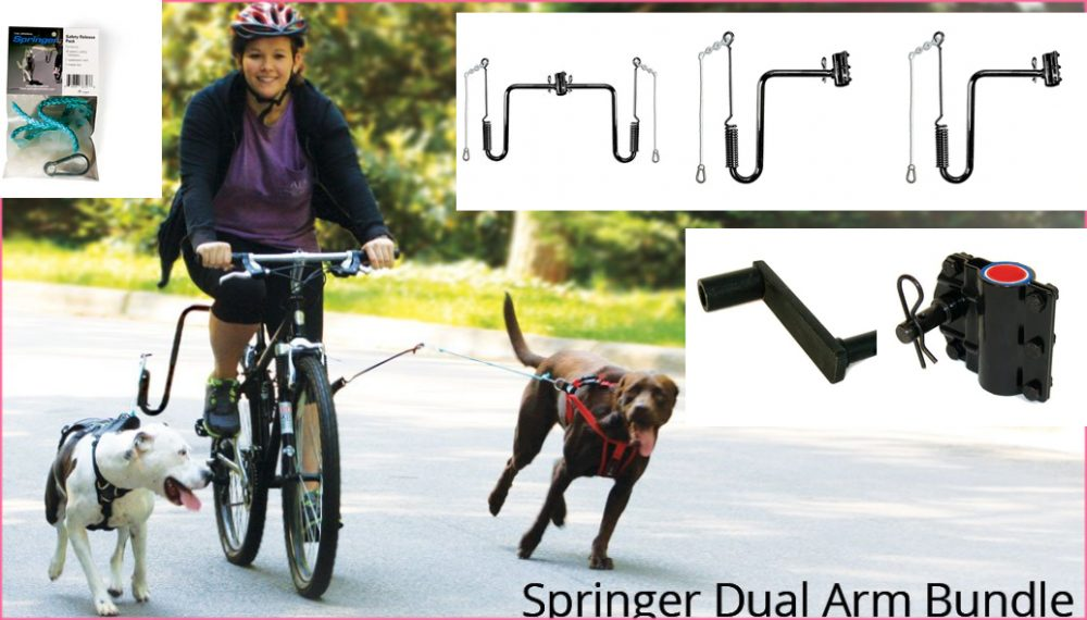 Springer Dog Exerciser Dual Arms