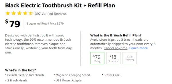 Bruush Electric Toothbrush Review inAlabama