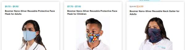 Boomer Naturals Face Mask Reviews