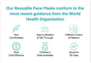 Boomer Naturals face Masks Amazon